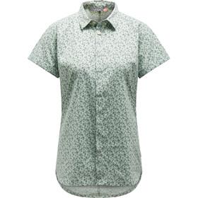Haglöfs Idun SS Shirt Women Blossom Green Flower
